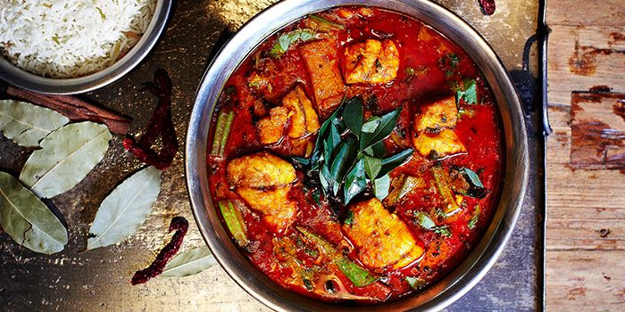 Fish Curry from StraitsKitchen in Grand Hyatt in Orchard, Singapore