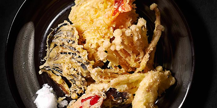 Tempura from Hana Restaurant in Orchard, Singapore