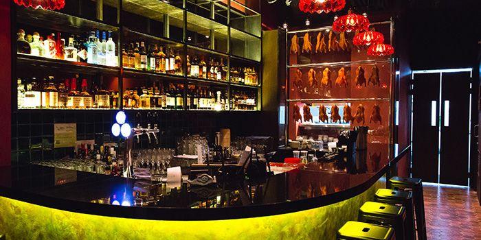 Bar Area of Sum Yi Tai (Tapas Bar) in Raffles Place, Singapore