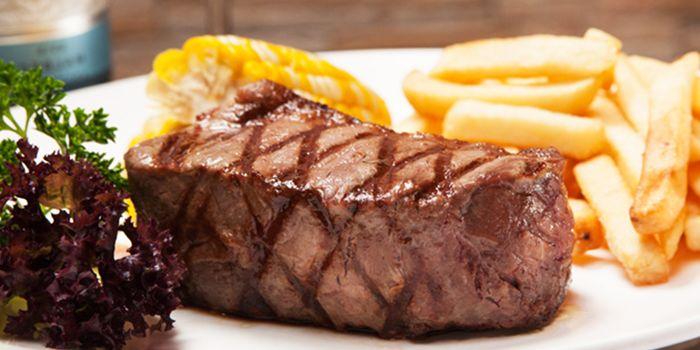 Bife de Chorizo (Sirloin), Pampas Argentinian Steak House, Soho, Hong Kong