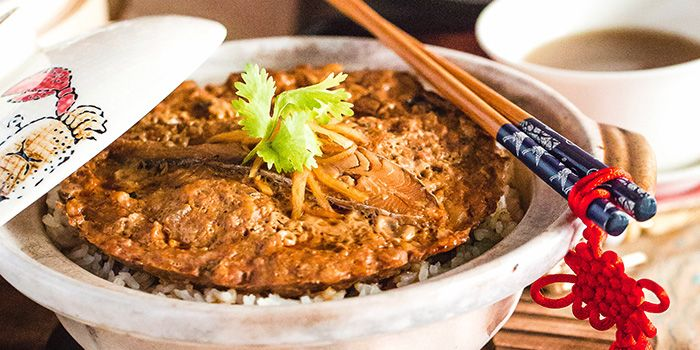 Claypot Rice from Sum Yi Tai (Tapas Bar) in Raffles Place, Singapore