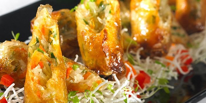 Deep Fried Spring Rolls from Thien Duong in Dusit Thani Bangkok in Silom, Bangkok