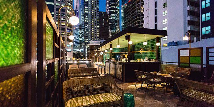 Exterior of Sum Yi Tai (Tapas Bar) in Raffles Place, Singapore