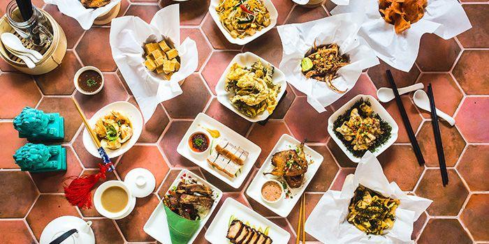 Food Spread from Sum Yi Tai (Tapas Bar) in Raffles Place, Singapore