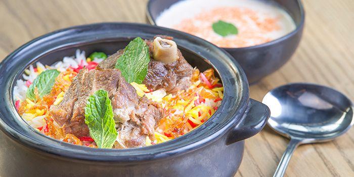 Gosht Dum Biryani from Charcoal Tandoor Grill & Mixology in Lower Sukhumvit, Bangkok