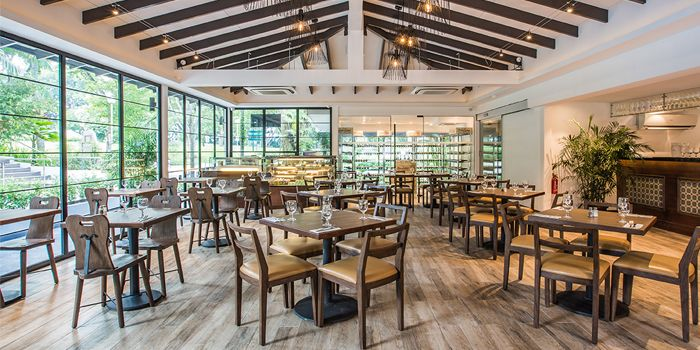 Interior of Canopy Garden Dining in Bishan, Singapore