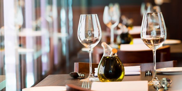 Table setting of Sole Mio, Sole Mio, Central, Hong Kong