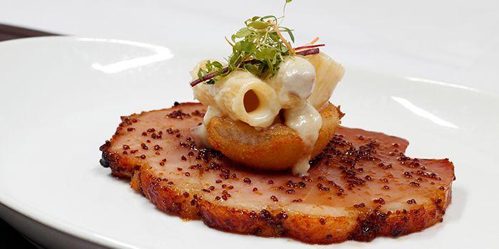 Mustard Glazed Roasted Ham from Hamilton