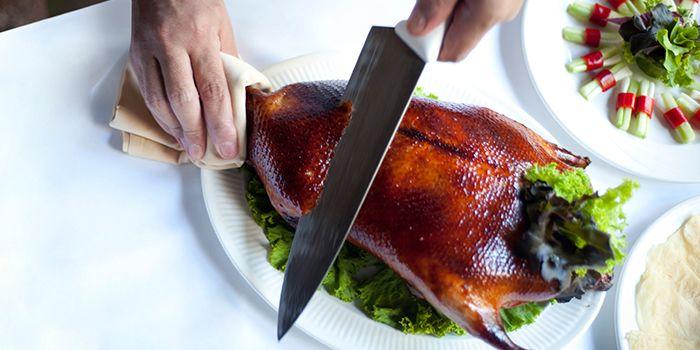 Peking Duck from The Mayflower Restaurant in Dusit Thani Bangkok in Silom, Bangkok