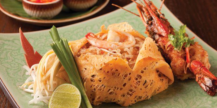 Phad Thai from Spice Market at Anantara Siam in Ratchadamri, Bangkok