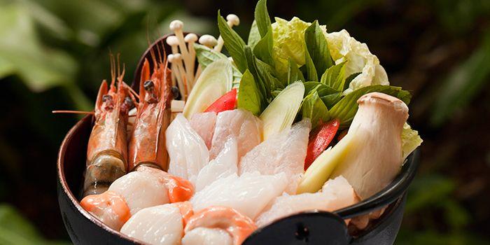 Seafood from Thien Duong in Dusit Thani Bangkok in Silom, Bangkok