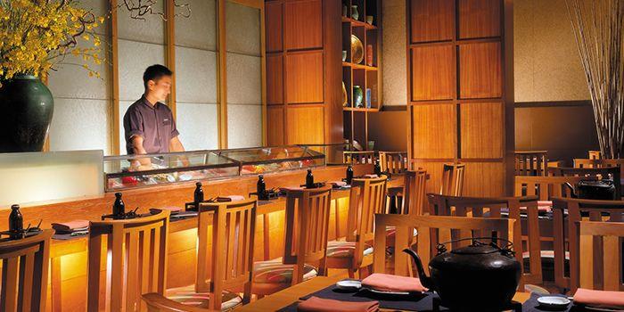 Interior of Shintaro at Anantara Siam in Ratchadamri, Bangkok