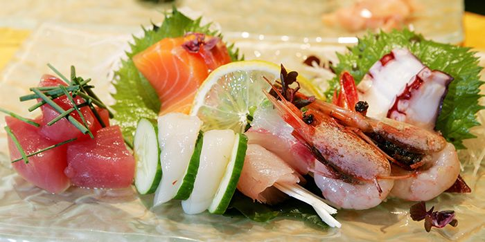 Sashimi Platter from Shintaro at Anantara Siam in Ratchadamri, Bangkok