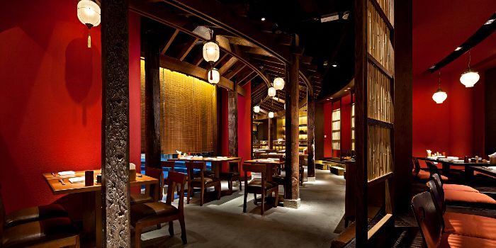 Dining Area of Gonpachi, Causeway Bay, Hong Kong