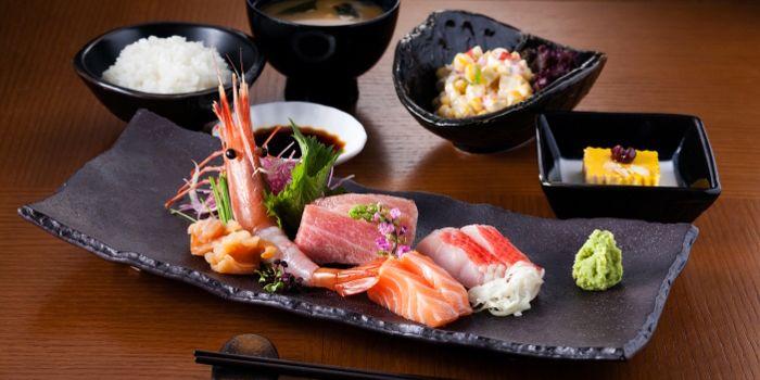 Sashimi Lunch Set, Gonpachi, Causeway Bay, Hong Kong