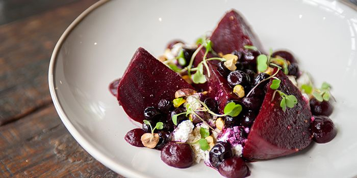 Beetroot Salad from Quince in Upper Sukhumvit, Bangkok