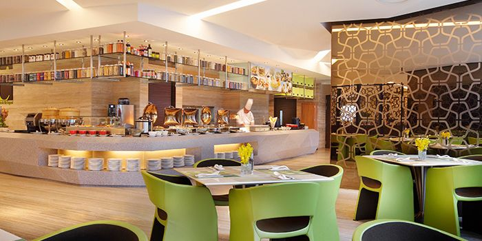 Interior of Chatterbox at Mandarin Orchard Singapore in Orchard, Singapore