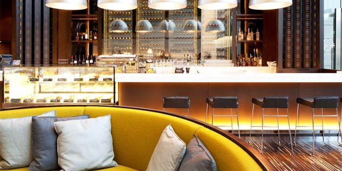 Bar Area in GREEN in Hotel ICON in Tsim Sha Tsui East, Hong Kong