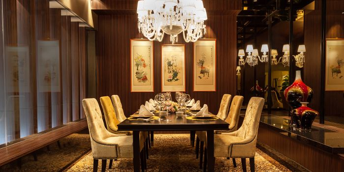 Private Dining Room of Shisen Hanten by Chen Kentaro at Mandarin Orchard Singapore in Orchard, Singapore