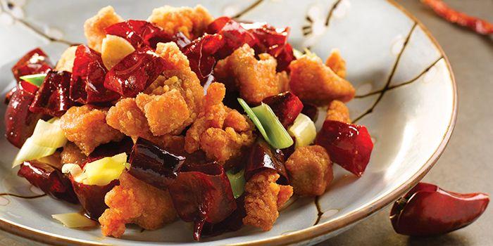 Szechuan Chilli Chicken from Shisen Hanten by Chen Kentaro at Mandarin Orchard Singapore in Orchard, Singapore
