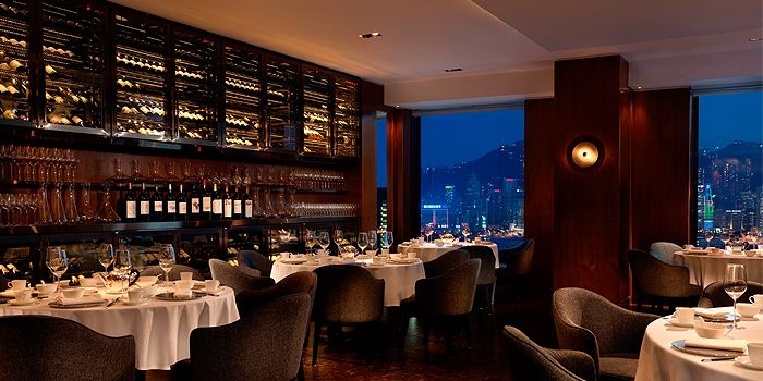 Dining Area of Above & Beyond, Hotel Icon, Tsim Sha Tsui East, Hong Kong
