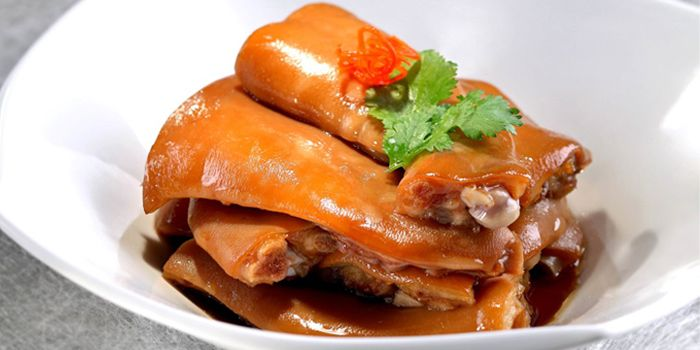 Suckling Pork Trotter in Abolone Sauce, Above & Beyond, Hotel Icon, Tsim Sha Tsui East, Hong Kong