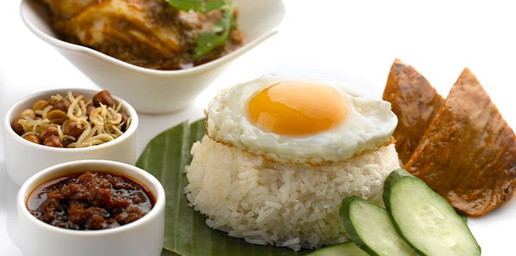 Nasi Lemak from Chatterbox at Mandarin Orchard Singapore in Orchard, Singapore