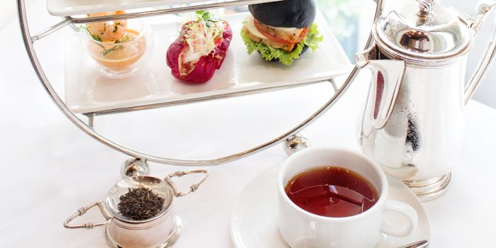 Afternoon Tea and Cake from Sheraton Grande Hotel, on Sukhumvit Road