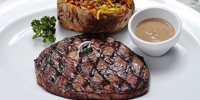 Beef Steak from The U.S. Steakhouse on Sukhumvit Soi 16