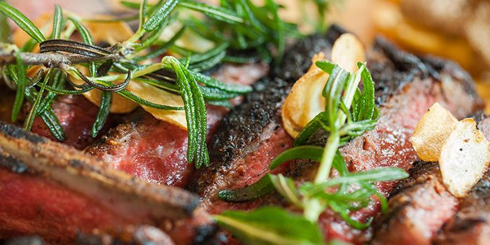 Beef from Casa Tartufo at The Scarlet Hotel, Singapore