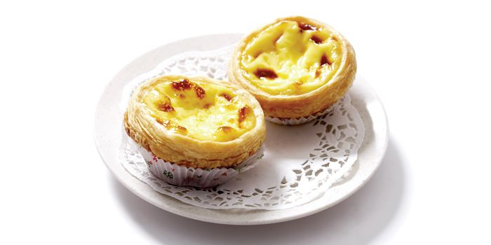 Egg Tarts from Swee Choon Tim Sum Restaurant in Jalan Besar, Singapore