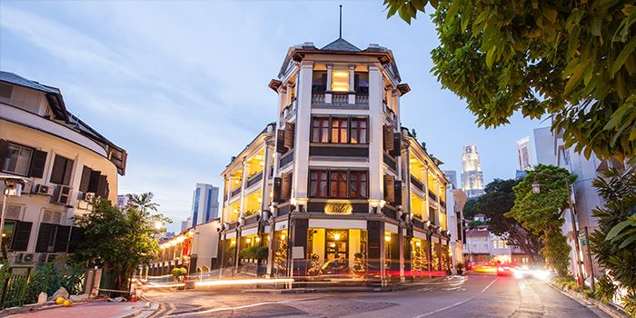 Exterior of Casa Tartufo at The Scarlet Hotel, Singapore