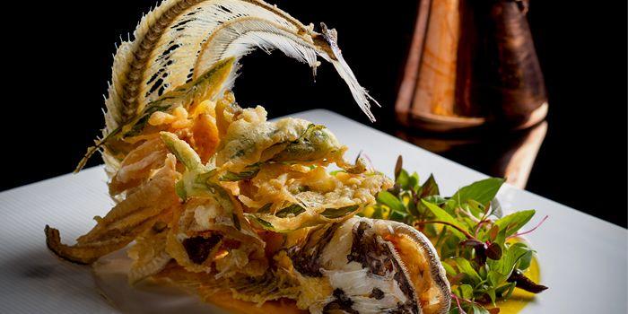 Fish from Osha Bangkok on Wireless Road, Lumpini