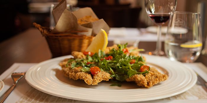 Milanese from Casa Tartufo at The Scarlet Hotel, Singapore