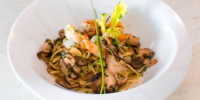 Mushroom Pasta from 1 Tyrwhitt Bistro Bar in Kallang, Singapore