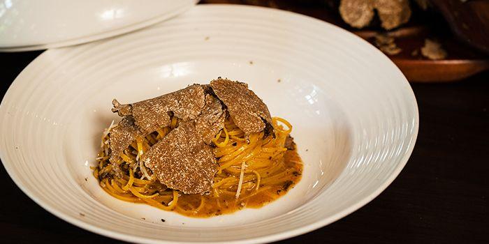Truffle Pasta from Casa Tartufo at The Scarlet Hotel, Singapore