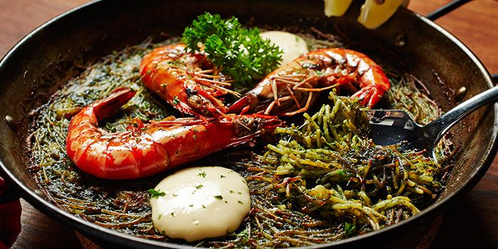 Prawns from My Little Spanish Place (Boat Quay) in Boat Quay, Singapore