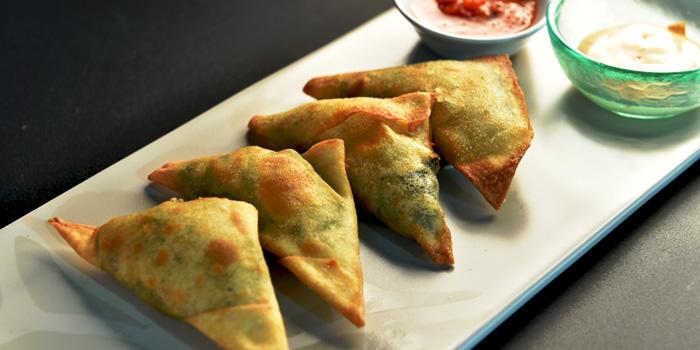 Samosa from Indique Gastrobar & Restaurant on Sukhumvit 22