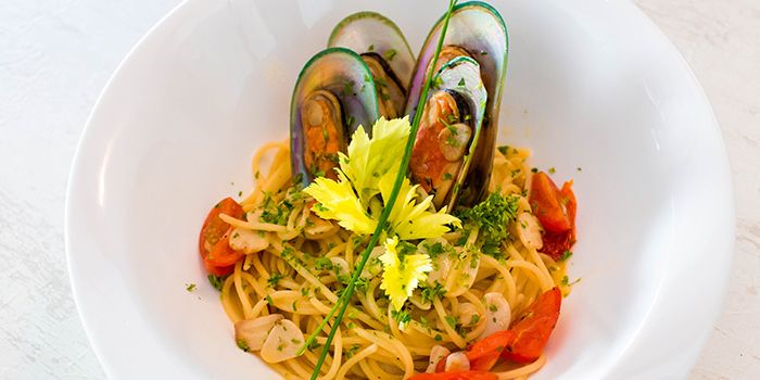Seafood Pasta from 1 Tyrwhitt Bistro Bar in Kallang, Singapore