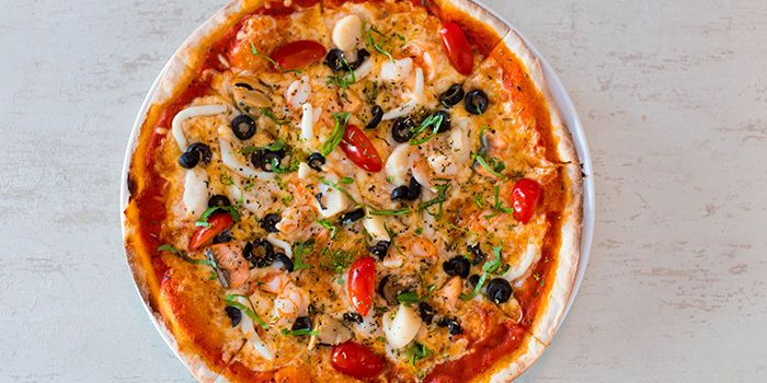 Seafood Pizza from 1 Tyrwhitt Bistro Bar in Kallang, Singapore