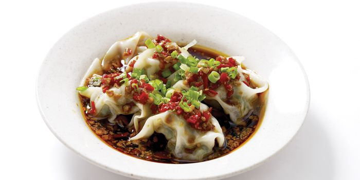 Sichuan Oil Chili Wanton from Swee Choon Tim Sum Restaurant in Jalan Besar, Singapore