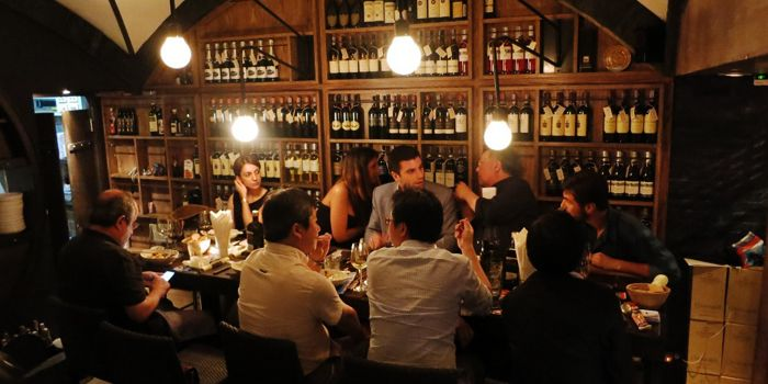 Atmosphere from diVino Bangkok on Thonglor Soi 16