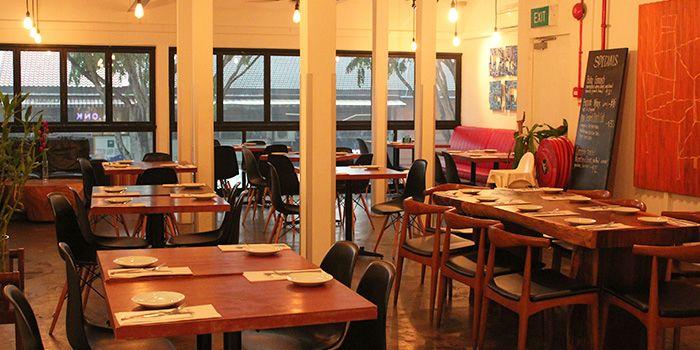 Dining Area of PLONK in Serangoon, Singapore