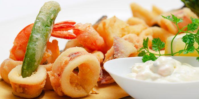Fried from Gianni Ristorante in Ploenchit, Bangkok