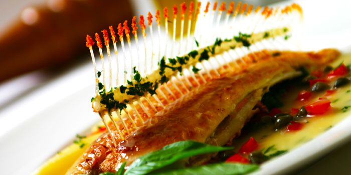 Pan Fried Whole Dover Sole from Gianni Ristorante in Ploenchit, Bangkok