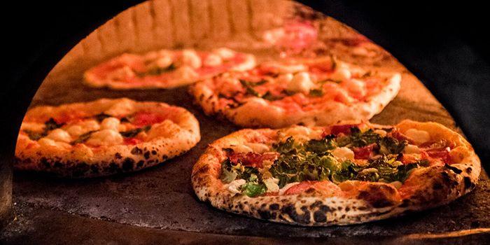 Pizza from Motorino in Clarke Quay, Singapore