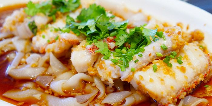 Seafood from Empire Dining at Thaniya Plaza on Silom Road