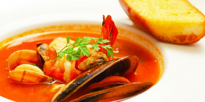 Seafood from Gianni Ristorante in Ploenchit, Bangkok