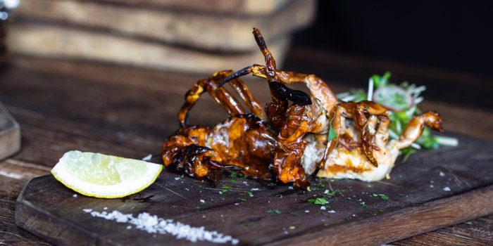 Solf Shell Crab from Lady Brett in Sathorn, Bangkok