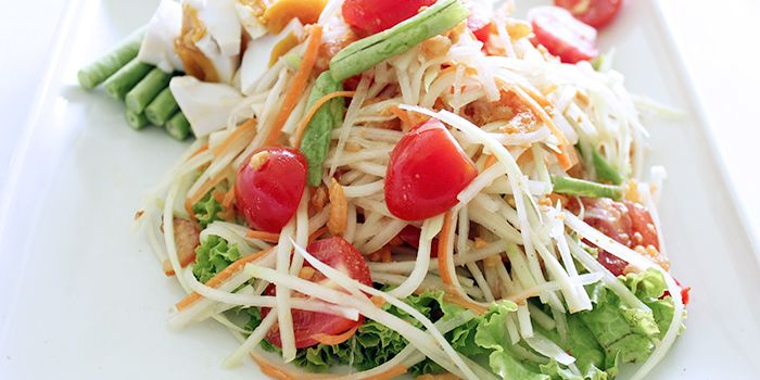 Papaya Salad from Tamarind Hill in Telok Blangah, Singapore